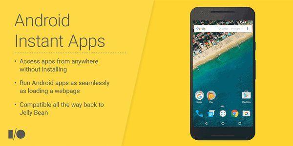 Андроид Instant Apps даст возможность работать сприложениями без установки