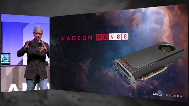 Видеокарта AMD Radeon RX 480
