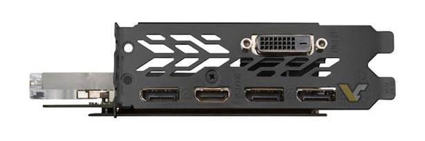 MSI GTX 1080 SEA HAWK EK видеовыходы