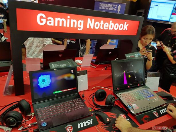 Computex 2016 ноутбуки MSI