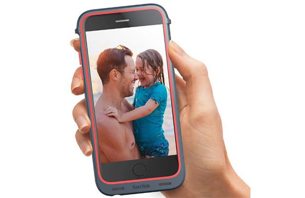 Чехол отSanDisk расширит память iPhone на128 ГБ