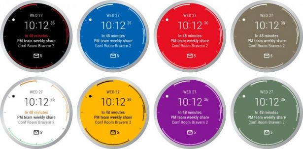 outlook for android wear new