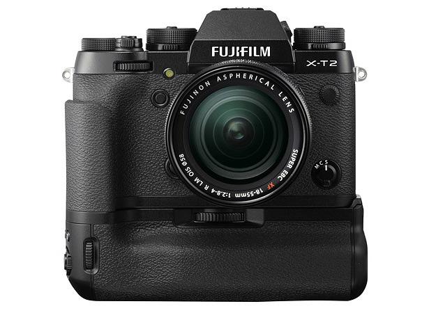 Fujifilm X-T2 с батарейной ручкой