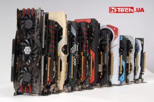 Тестирование видеокарт NVIDIA, AMD
