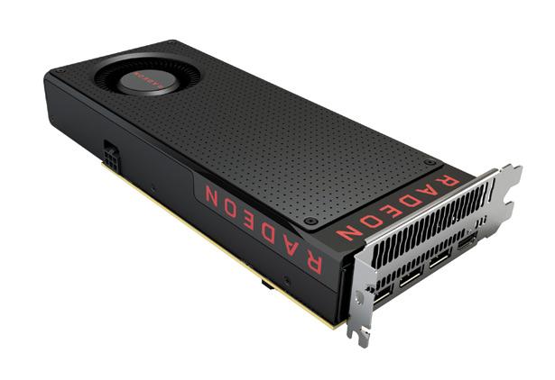 Видеокарта AMD Radeon RX 480 на новой архитектуре Polaris 10