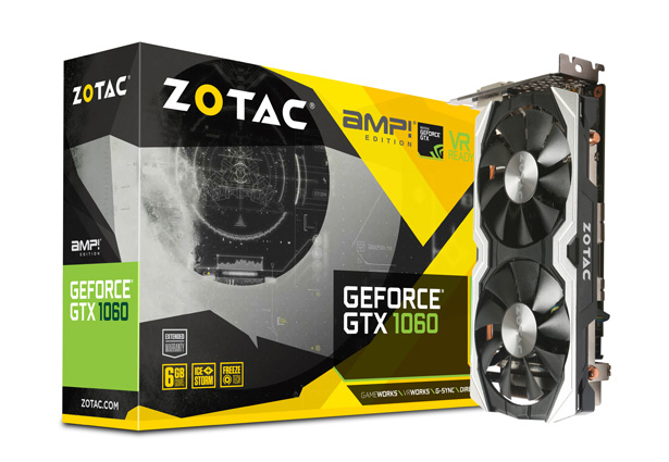 Zotac GeForce GTX 1060 AMP! Edition (ZT-P10600B-10M)