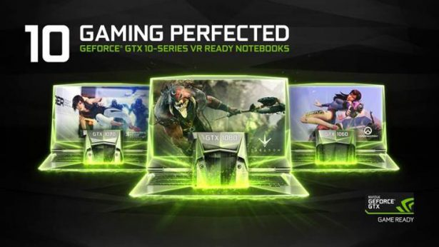 NVIDIA GeForce GTX 1060, GTX 1070, GTX 1080 для ноутбуков