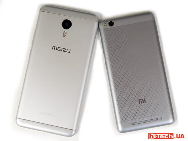 meizu m3 note vs xiaomi redmi 3