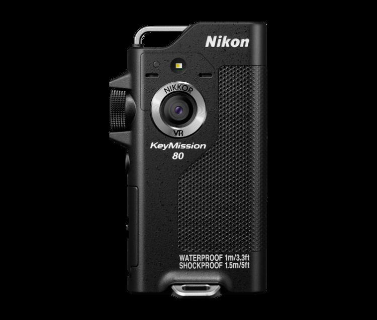 KeyMission 170 иKeyMission 80— новые экшен-камеры отNikon