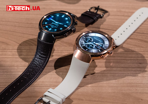 Часы Asus ZenWatch 3 на базе Android Wear