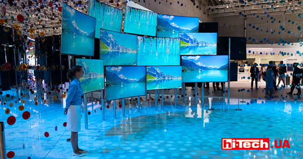 Панели Samsung на базе технологии Quantum dot