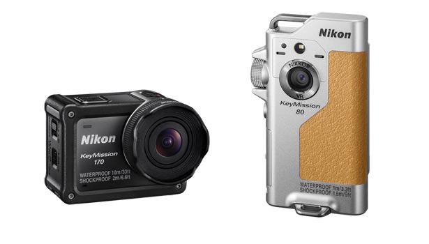 Серию экшн-камер Nikon пополнили модели KeyMission 170 иKeyMission 80