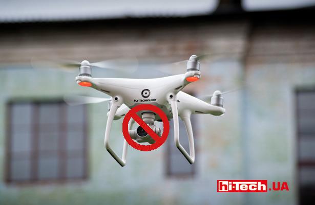 ВШвеции запретили использование дронов скамерами