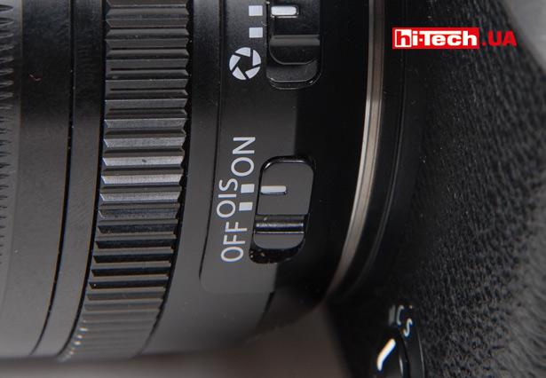 Включение системы стабилзации на объективе Fujifilm XF 18-55mm F2.8-4 R LM OIS