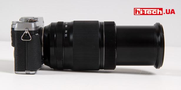 Fujifilm X-E2S с объективом XF 55-200mm F3.5-4.8 R LM OIS