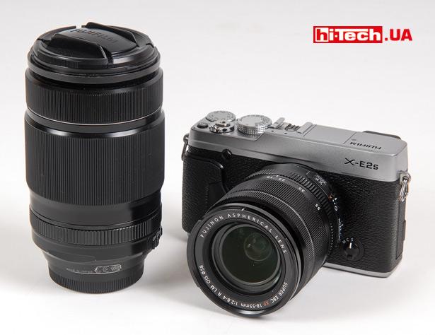 Камера Fujifilm X-E2S с объективами XF 18-55mm F2.8-4 R LM OIS и XF 55-200mmF3.5-4.8 R LM OIS