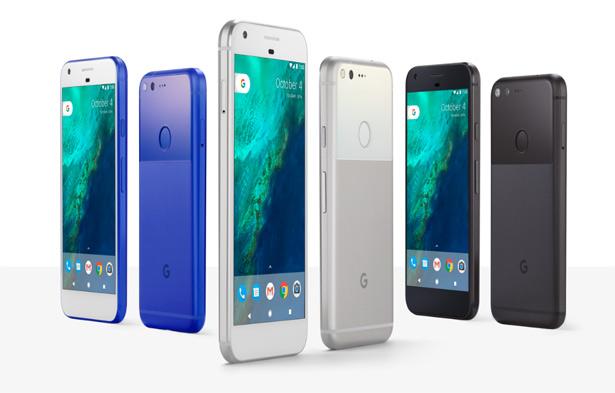 Смартфоны Pixel и Pixel XL