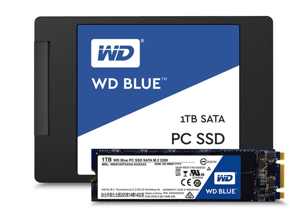 SSD-диски WD Blue
