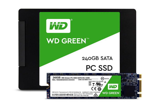 SSD-диски WD Green