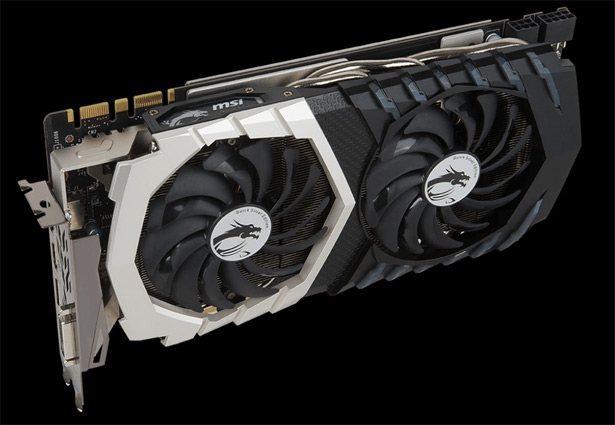 Видеокарта MSI GeForce GTX 1070 Quick Silver