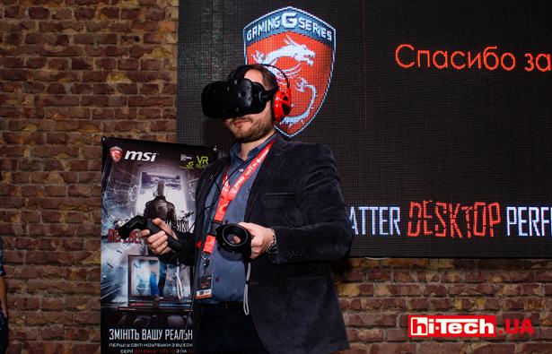 Видеоадаптеры Nvidia GeForce GTX 10XX, используемые в представленных ноутбуках MSI, обеспечивают достаточный уровень производительности для развлечений с VR-очками
