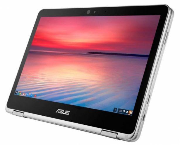 Asus официально представила новый Chromebook Flip C302CA