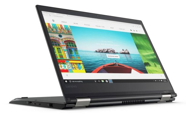 Lenovo ThinkPad Yoga 370 — ноутбук-трансформер с Full HD экраном и Thunderbolt 3