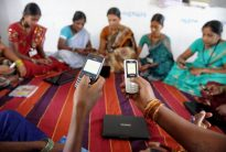 INDIA-ECONOMY-RURAL-WOMEN-TECHNOLOGY