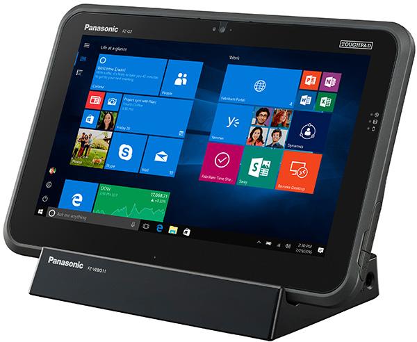 Panasonic представлена обновленная версия планшета Toughpad FZ-Q2