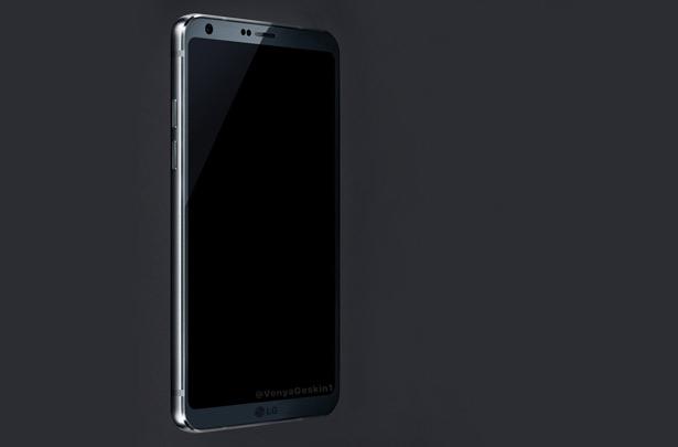 Предположительный дизайн LG G6, согласно утечкам информации