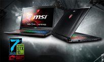 Игровой ноутбук MSI с процессором Intel Core седьмого поколения