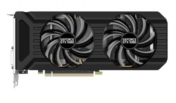 Palit представляет видеокарту GeForce GTX 1080 DualOC