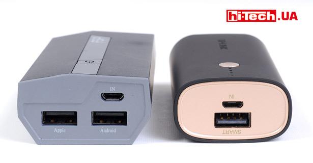Возможность зарядки сразу двух устройств не помешала бы, но у TP-Link TL-PBG6700 всего один USB-выход. На фото TP-Link TL-PBG6700 рядом с FSP Beetle 5200