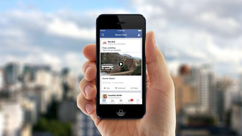 Фейсбук будет демонстрировать рекламу всередине видео