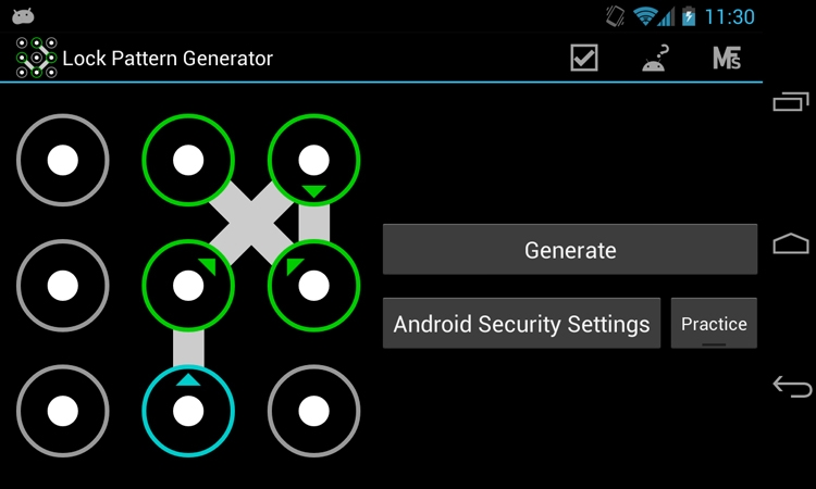 graphic key android