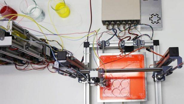 Создан 3D-принтер, печатающий функциональную кожу человека