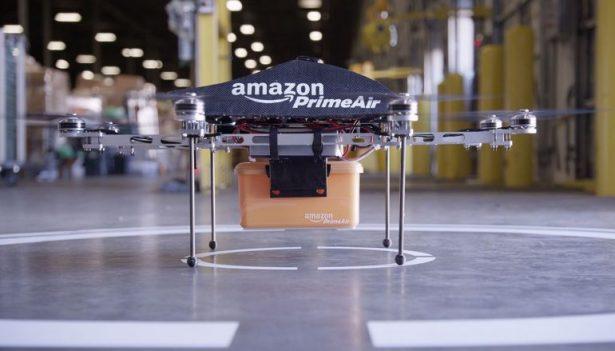 Дроны Amazon будут передавать груз незаурядным методом — Новые технологии
