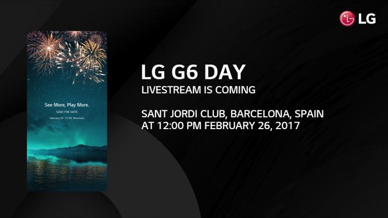 LGG6 внескольких цветах показали наживых фотографиях