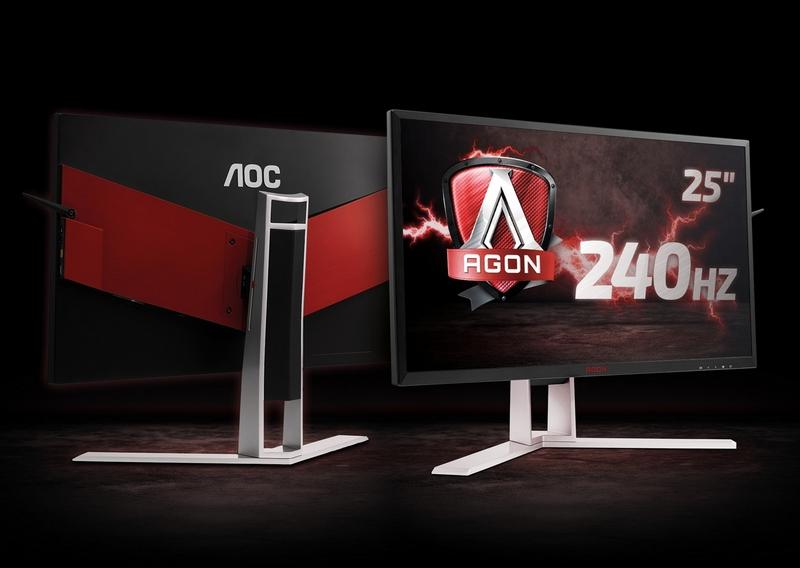 AOC представляет геймерский монитор Agon AG251FZ счастотой развертки 240 Гц