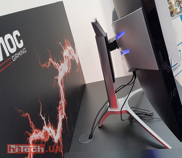 AOC Agon AG352QCX at CeBIT 2017 02
