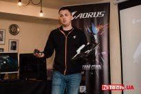 Презентация Gigabyte AORUS в Украине