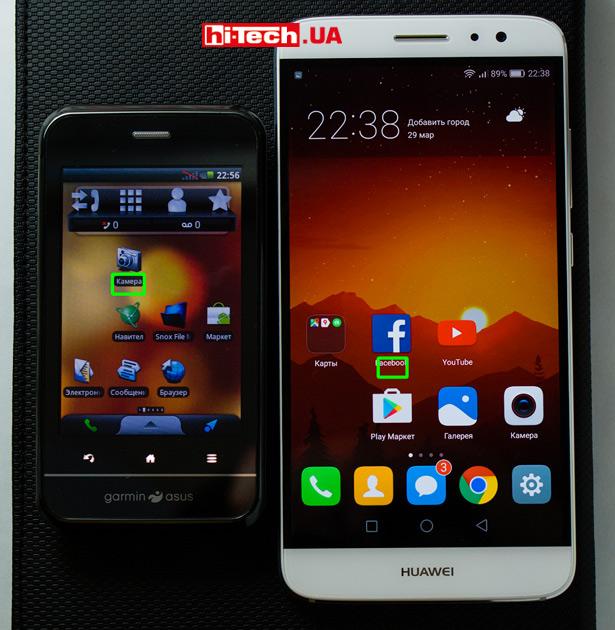 Смартфоны Garmin-Asus A10 и Huawei nova Plus