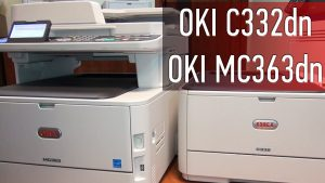 OKI C3 cover