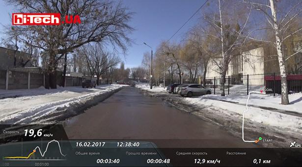 Наложение GPS-информакции на видео Sony HDR-AS300
