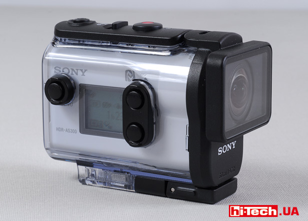 Sony HDR-AS300 в защитном боксе