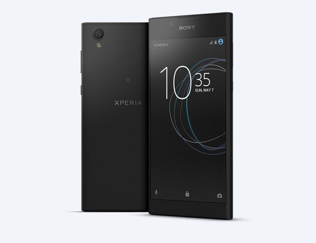 Sony Xperia L1 в черном цвете