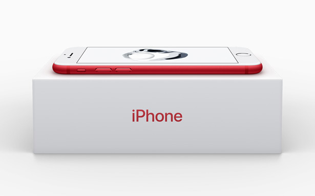 Коробка iPhone 7 и iPhone 7 Plus (PRODUCT)RED Special Edition