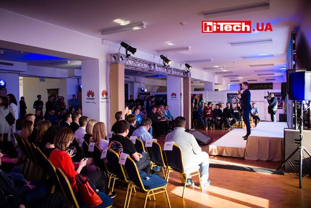 презентация топовых смартфонов Huawei P10 и P10 Plus в Украине