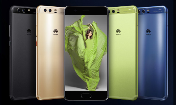Разные цвета Huawei P10