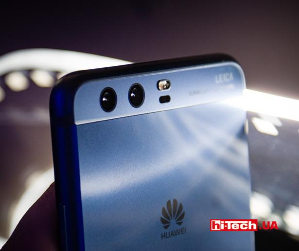 Двойная камера Huawei P10 и P10 Plus